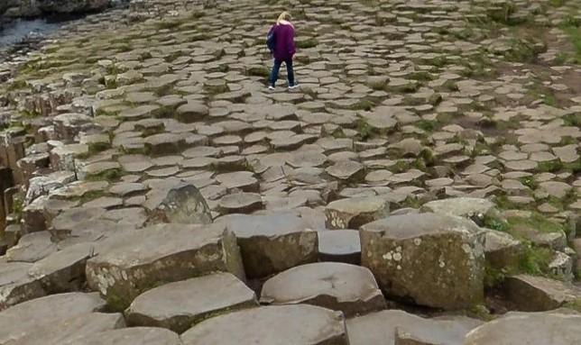 Дорога гигантов в Северной Ирландии