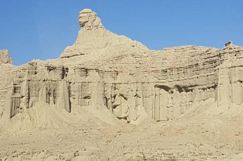 в пустыне Пакистана