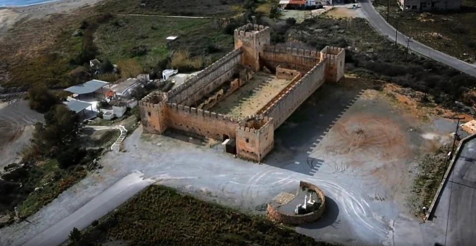 Призраки замка Франгокастелло на Крите