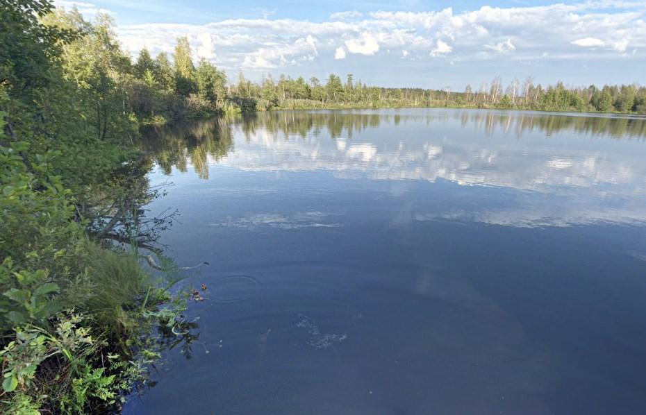 Бездонное озеро в Подмосковье