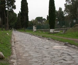 Грандиозное сооружение человечества — сеть дорог античного Рима