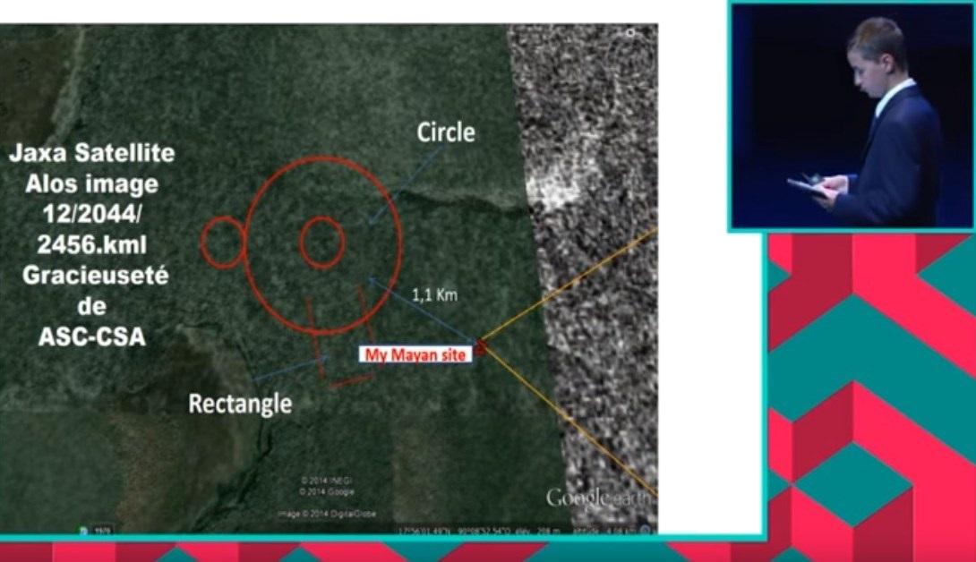 школьник из Канады возможно обнаружил затерянный город майя