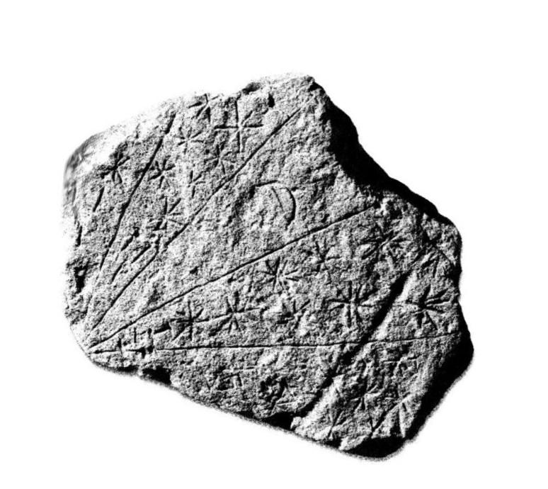 Изучив необычный камень, которому более 4000 лет, археолог понял, что это карта звездного неба