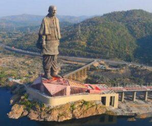Самая высокая статуя на планете, которую неплохо видно из космоса — Статуя Единства в Индии
