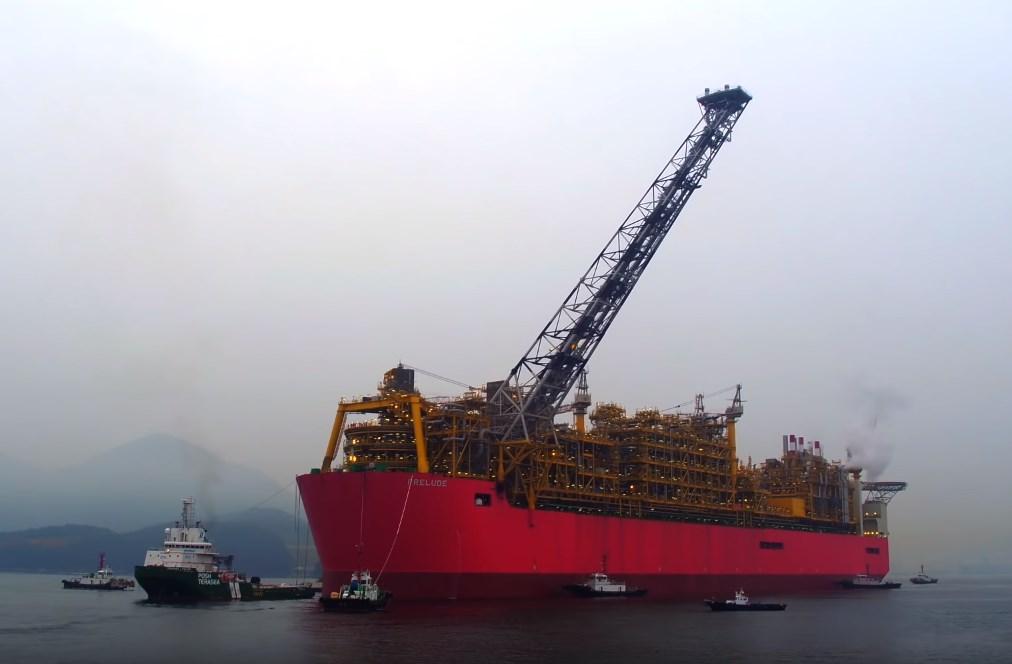 Самое большое судно, которое построил человек - Prelude