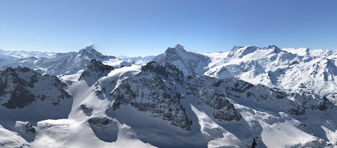 Мост на высоте более 3000 метров над уровнем моря: когда смотришь на Альпы сверху вниз