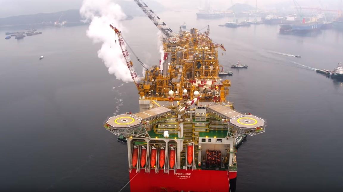 Prelude - Самое большое судно, которое построил человек