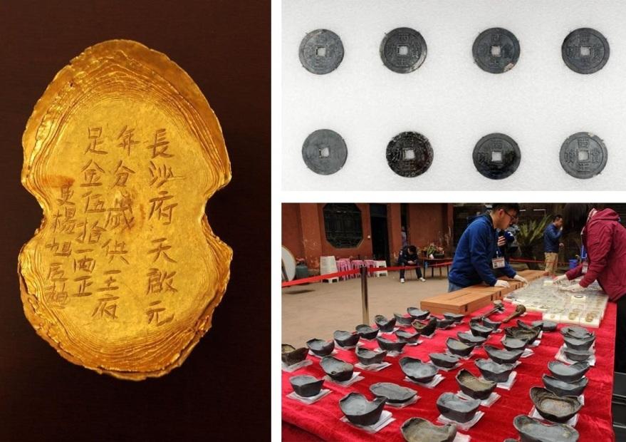 На дне реки Миньян нашли легендарные сокровища