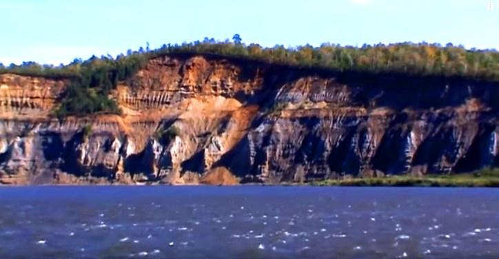 «Горящие горы» в Амурской области - удивительный геологический объект России