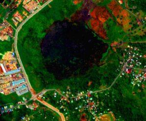 В огромном природном озере из жидкого асфальта учеными обнаружены живые микроорганизмы