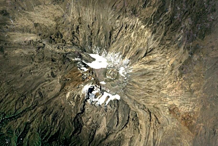 Исчезновение ледников Килиманджаро