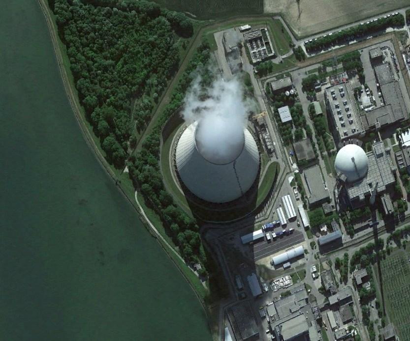 Градирня АЭС Изар
