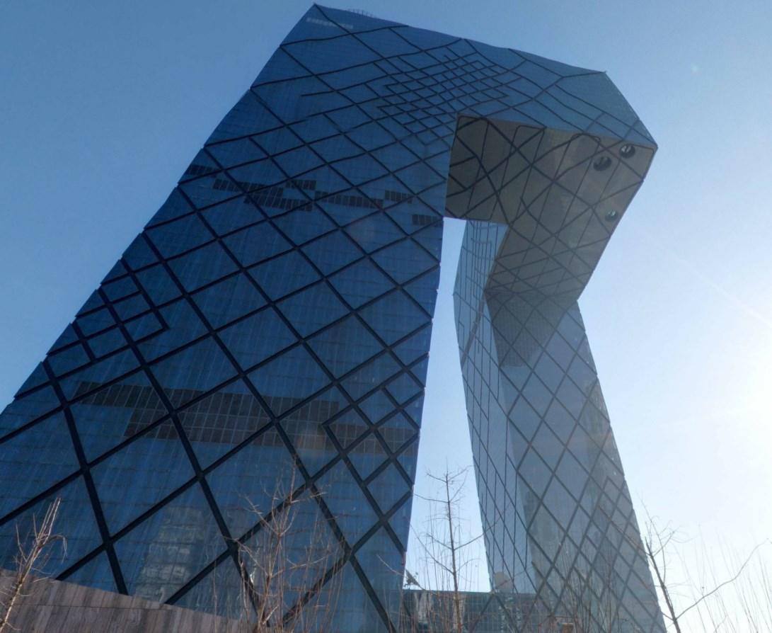 Огромные «штаны» - странности китайской архитектуры
