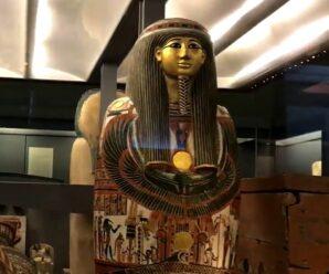 Как внутри египетского саркофага оказались древние отпечатки пальцев