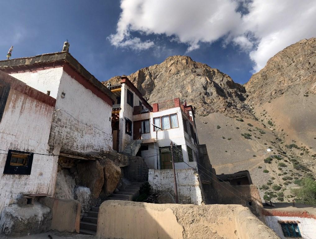буддийский монастырь Ки Гомпа