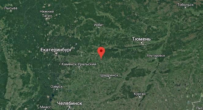 Акулий пляж на Урале между Тюменью и Екатеринбургом