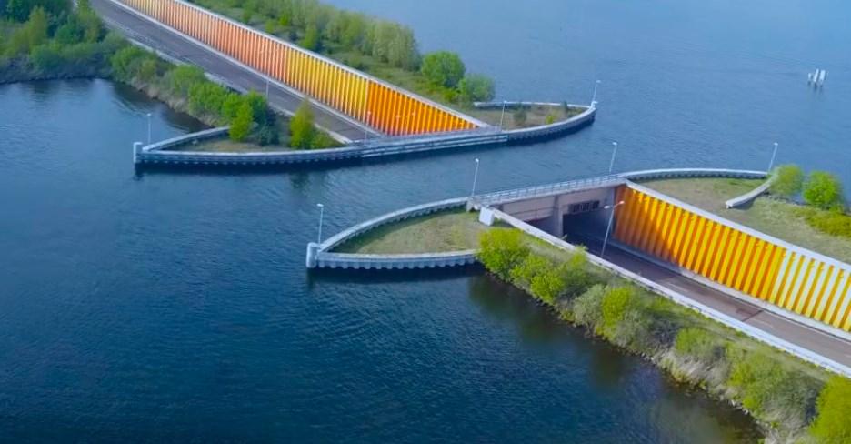 Мост, который не над, а под водой - акведук Велювемер