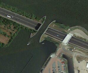 Мост, который не над, а под водой — акведук Велювемер