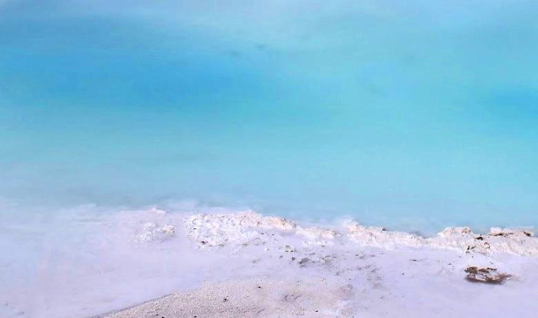 Как в Пермском крае появился экзотический водоем с белоснежными берегами