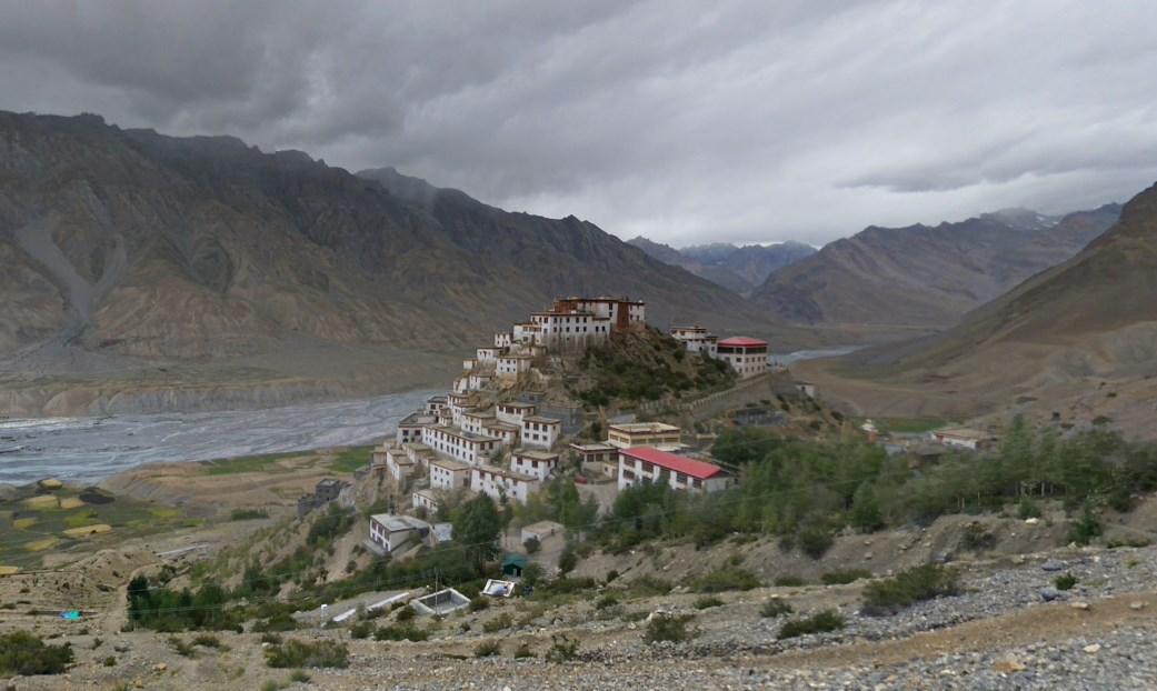древний буддийский монастырь Ки Гомпа