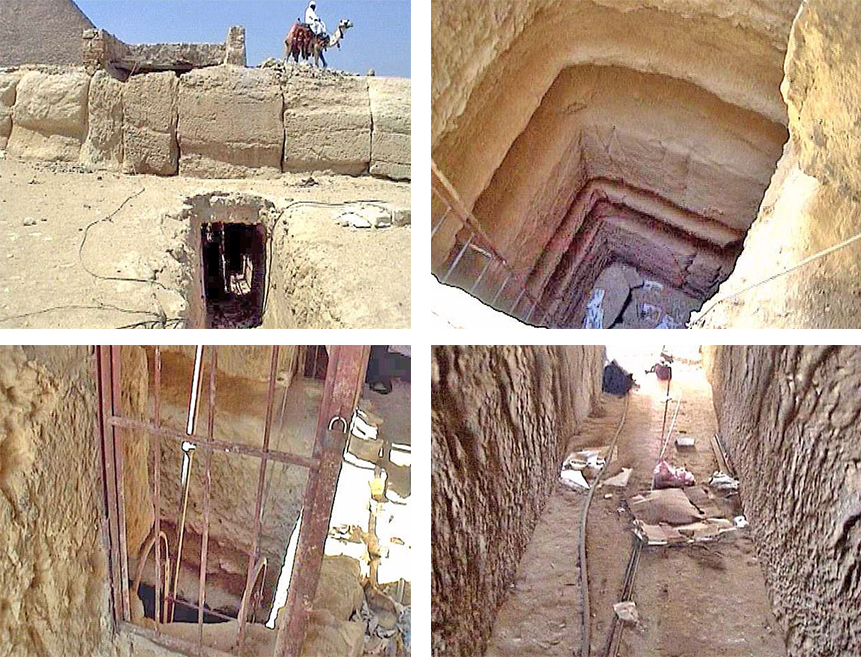Древняя гробница царя загробного мира - Осириса