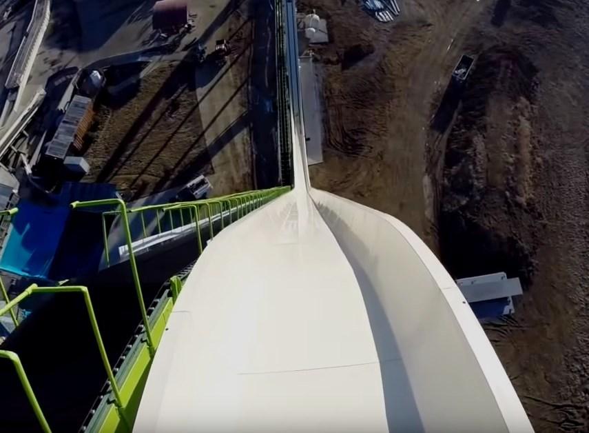 Самая высокая в мире водная горка, которую вынуждены были закрыть из-за смертельной опасности - Verruckt
