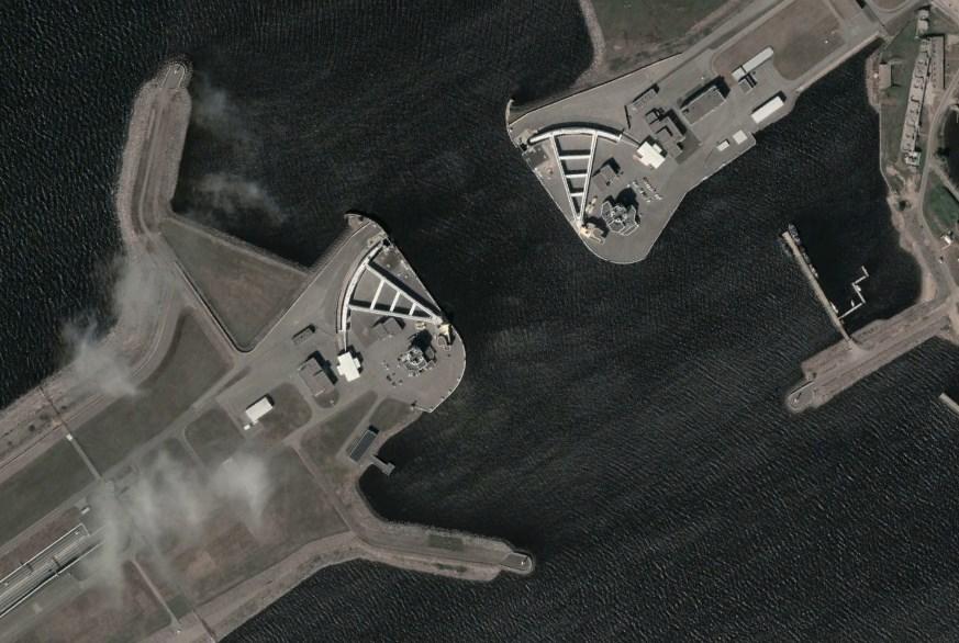 Циклопический затвор, защищающий Санкт-Петербург от затопления - судопропускное сооружение С-1
