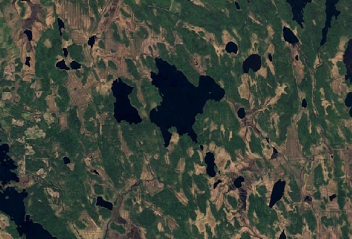 В России находится, предположительно, старейший на Земле метеоритный кратер из всех известных - Суавъярви в Карелии
