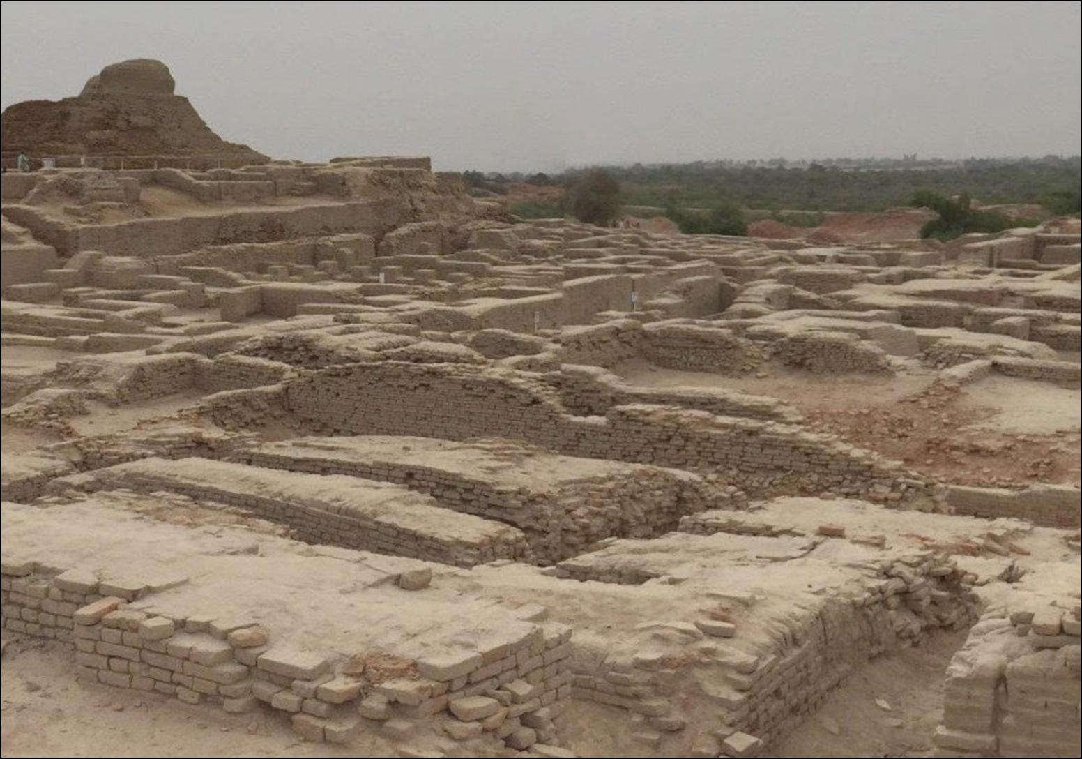 Древний город, который был уничтожен неведомой силой тысячи лет назад - Мохенджо Даро