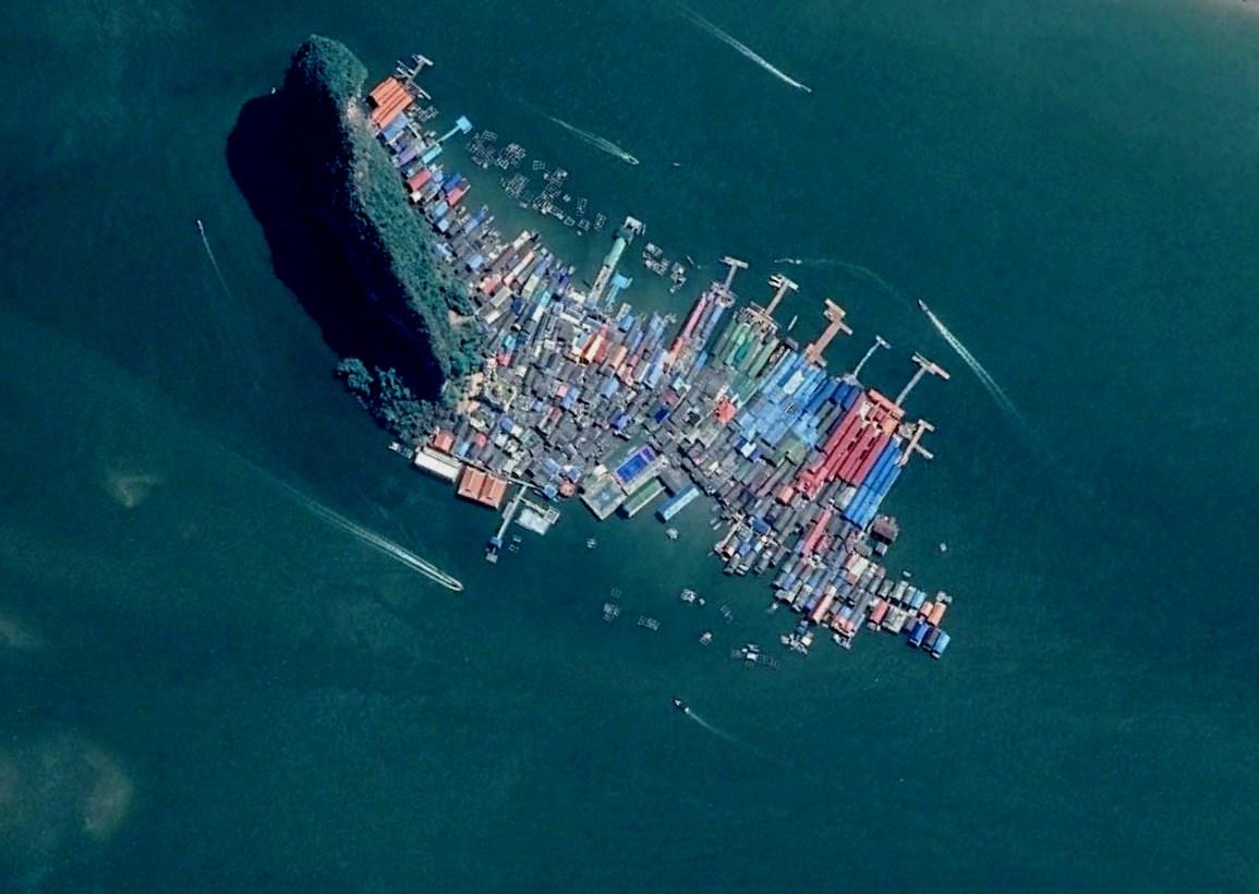 Необычный остров, состоящий из домов - Ко-Пани