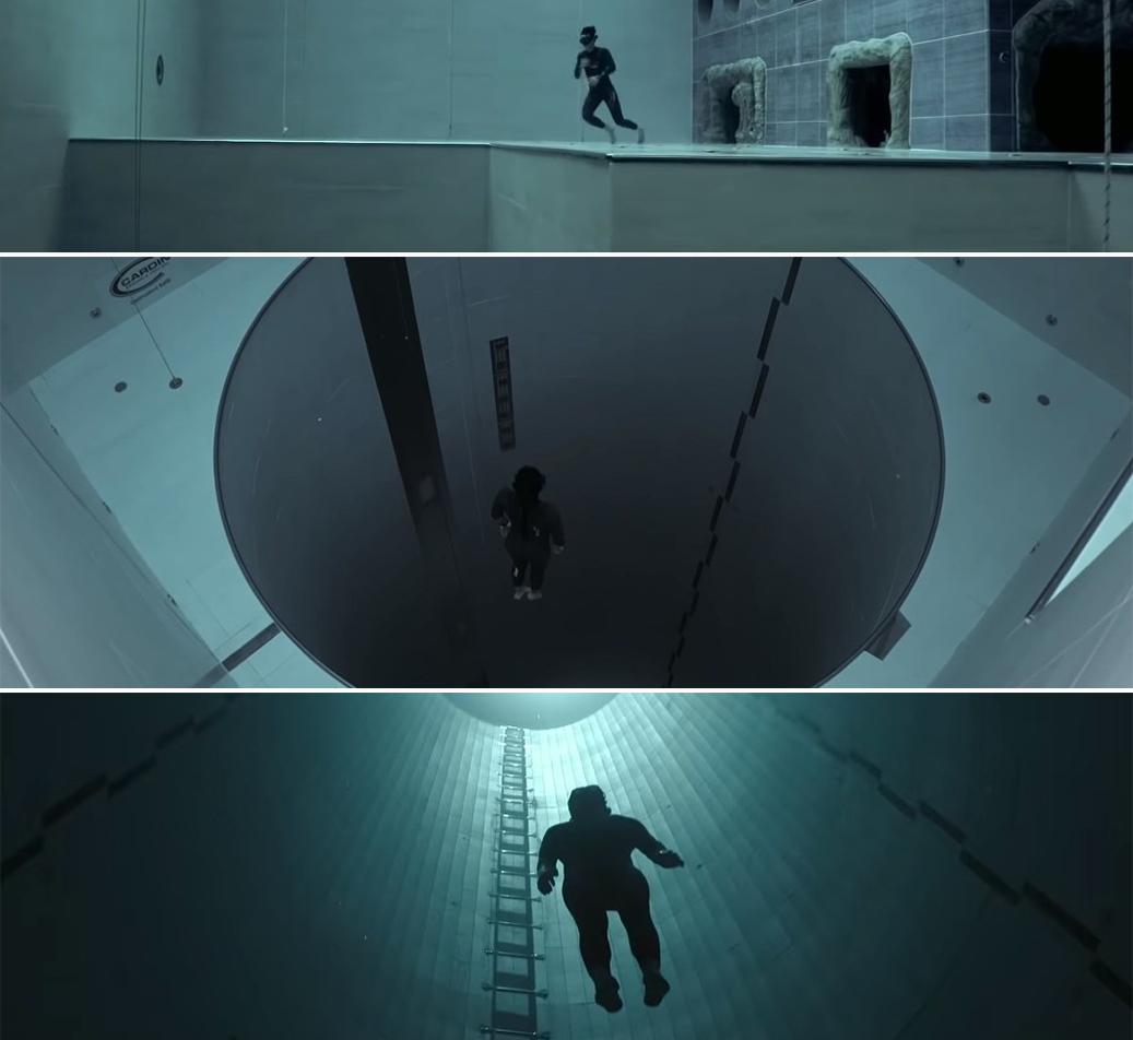 Самый глубокий бассейн в мире, или Эдем для фридайверов - Y-40 The Deep Joy