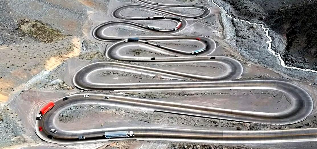 Одна из самых сложных дорог в мире - Лос Либертадорес