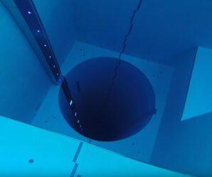 Самый глубокий бассейн в мире, или Эдем для фридайверов — Y-40 The Deep Joy