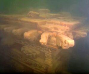 Древний китайский город, скрытый под водой — Ши Чэн