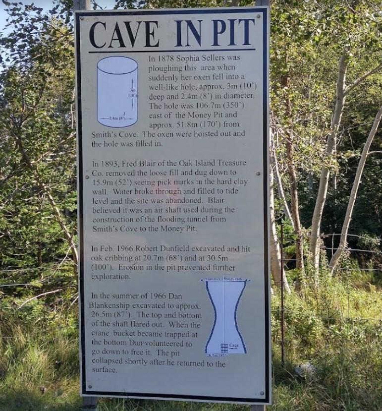 Яма, которая по легендам до сих пор скрывает сокровища - Денежная шахта на острове Оук