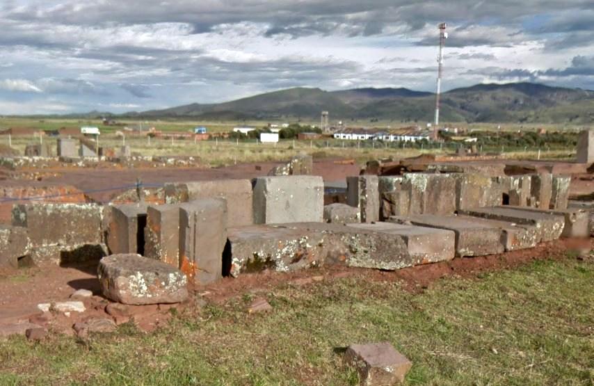 Одни из самых необычных мегалитов древних цивилизаций - Пума Пунку