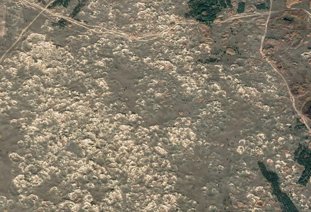 Одна из самых северных пустынь России с песчаными барханами и скорпионами - Арчединско-Донские пески