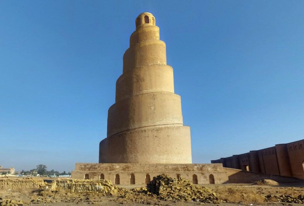 минарет аль-Малвия в Самарре