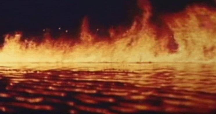 Одно из самых необычных явлений 20 века - загорелось Чёрное море в 1927 году