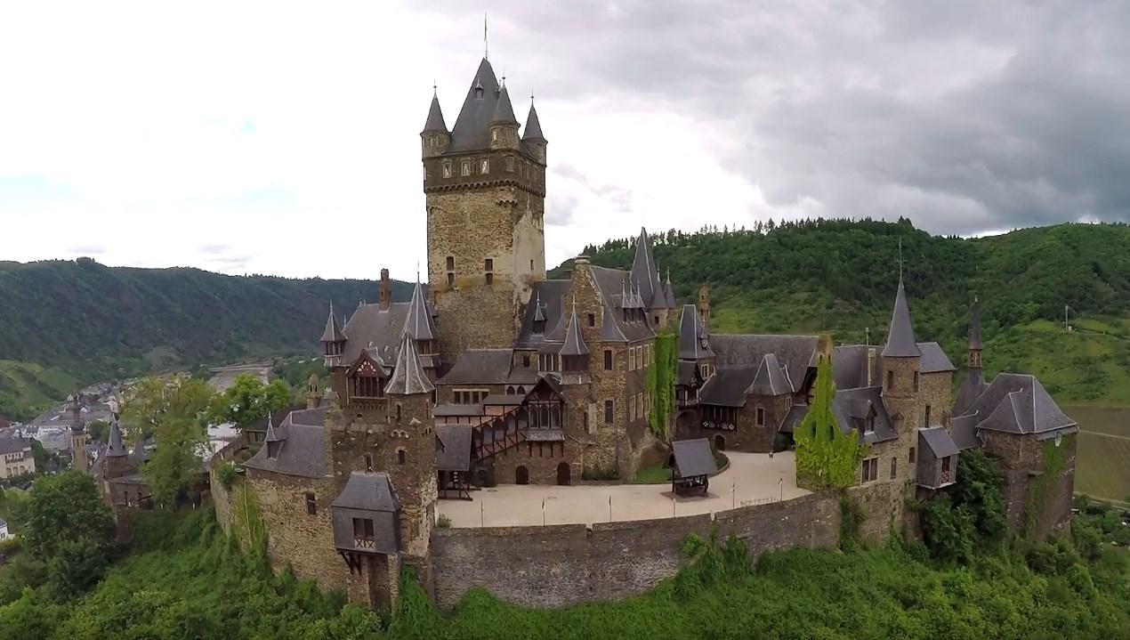 Имперский замок в Германии - Кохем