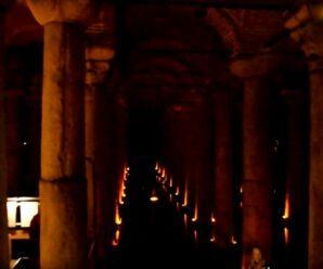 Огромный древний комплекс под землёй — Цистерна Базилика