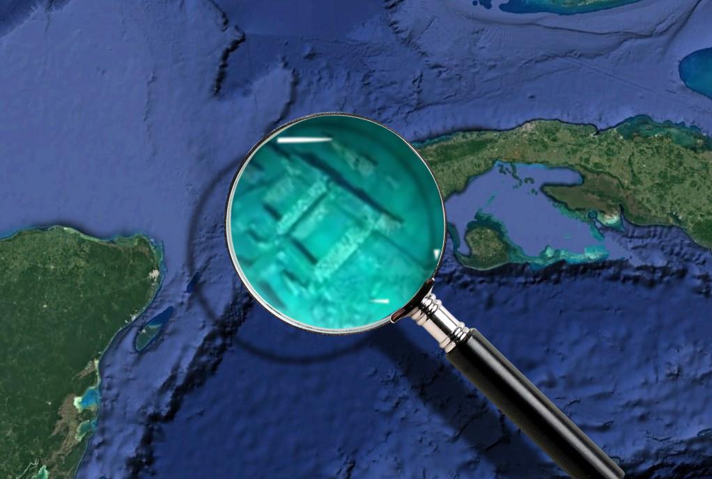 Город древней цивилизации, который обнаружили под водой у берегов Кубы