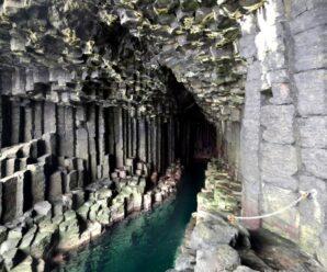 «Остров из колонн», который по легендам викингов строили великаны — Стаффа