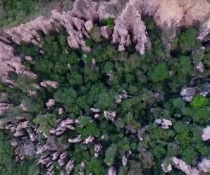 Гигантские столбы, созданные природой — Лос Эсторакес
