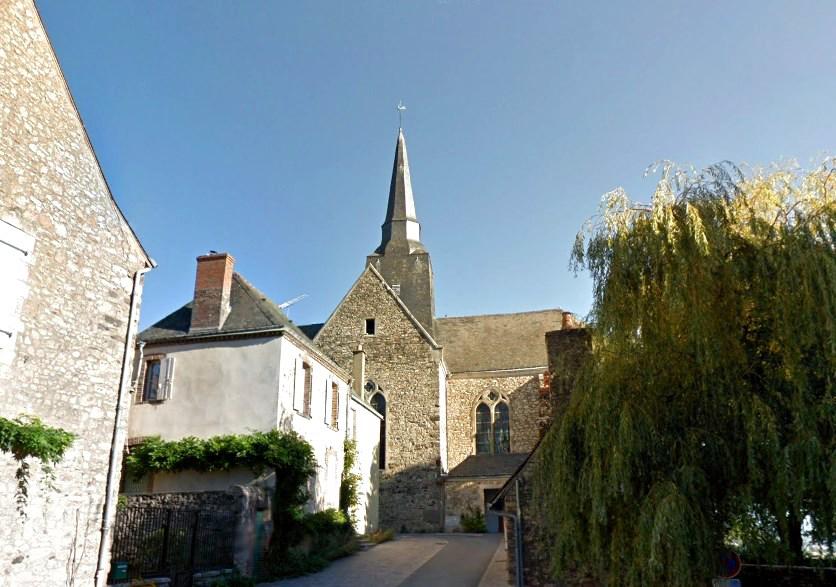 Средневековый замок с оплавленными стенами - Сент-Сюзанн