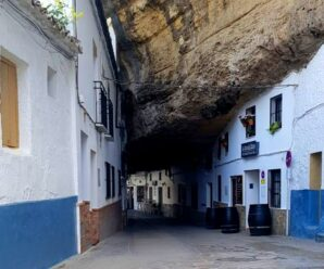 Дома «прижатые» скалой — необычный город Сетениль-де-лас-Бодегас