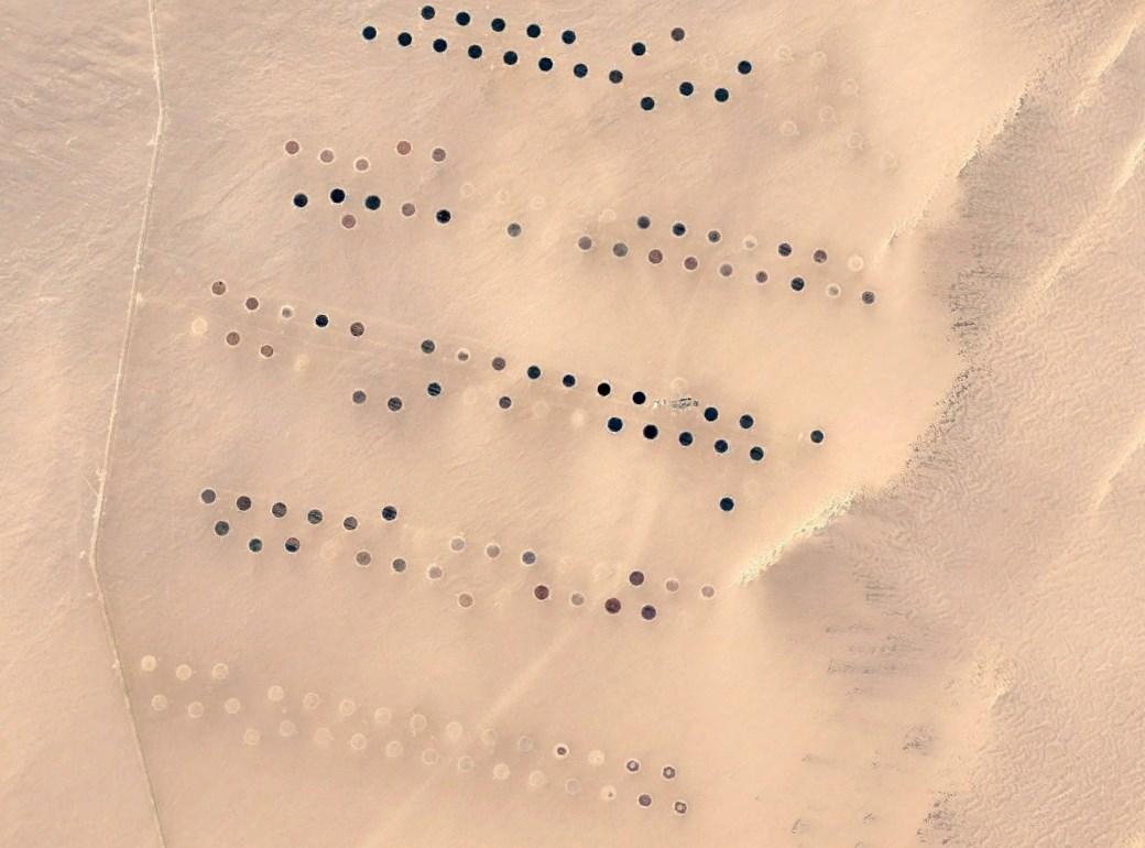 Великая рукотворная река в Ливии