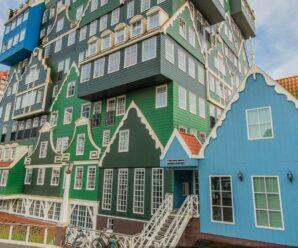 Сказочно, уютно и немного мультяшно — необычный отель в Голландии недалеко от домика Петра I