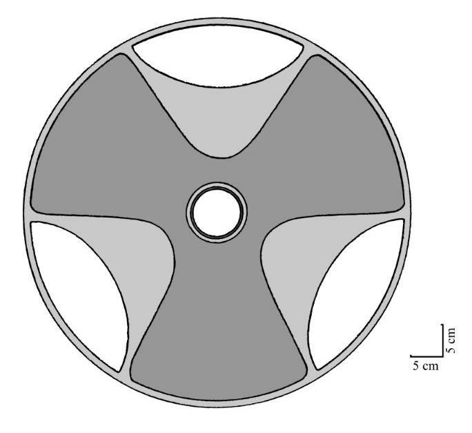 Один из самых непонятных артефактов древности - то ли тарелка, то ли пропеллер, он же диск Сабу