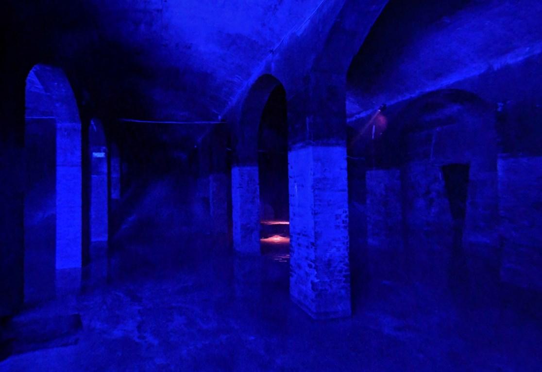 Необычное заброшенное водохранилище под землёй - Цистерна в Сёндермаркене